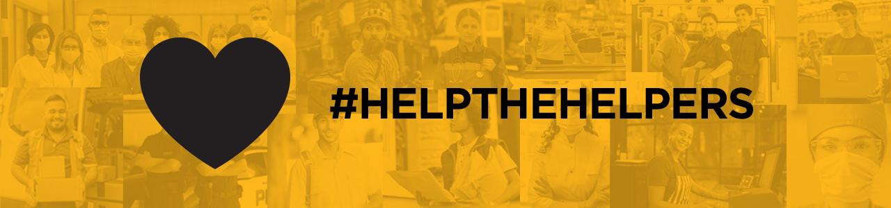 Help the Helpers Hashtag