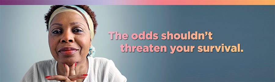 The odds shouldn't threaten your survival.